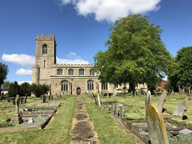 St Firmin's churchyard