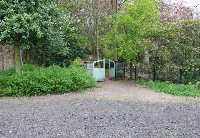 Gate into the Walled Garden, Silverburn Park, Leven