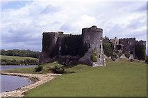 SN0403 : Carew Castle, Pembrokeshire by Colin Park