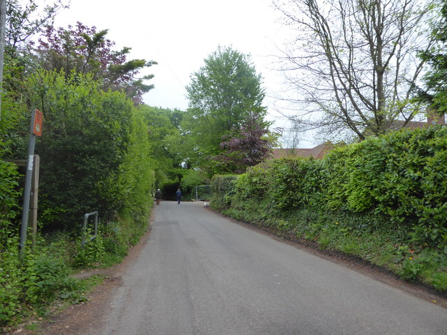Looking eastwards in Scotland Lane