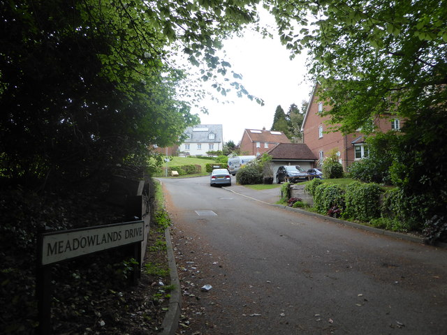 Looking from Midhurst Road into Meadowlands Drive