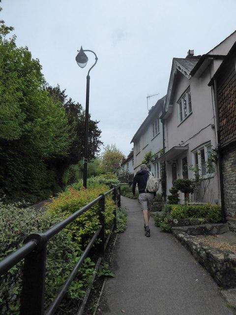 Path on Shepherds Hill