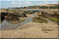 SX6543 : Rocks near Bantham Sand by Derek Harper