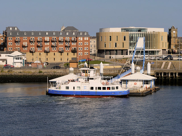 The Shields Ferry, South Shields Landing Stage