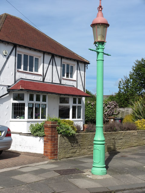 Sewer Gas Lamp, Brantwood Avenue, Monkseaton