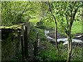 SE1126 : Footpath approaching Jum Hole Beck, Hipperholme by Humphrey Bolton