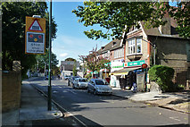 TQ1572 : Post Office and shops, Tower Road by Robin Webster