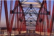 SJ8097 : Detroit Bridge, Salford Quays (1991) by Colin Park