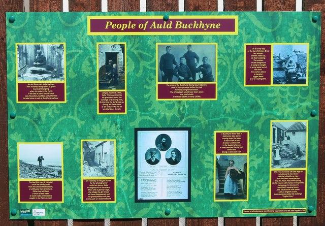 Information board, Buckhaven