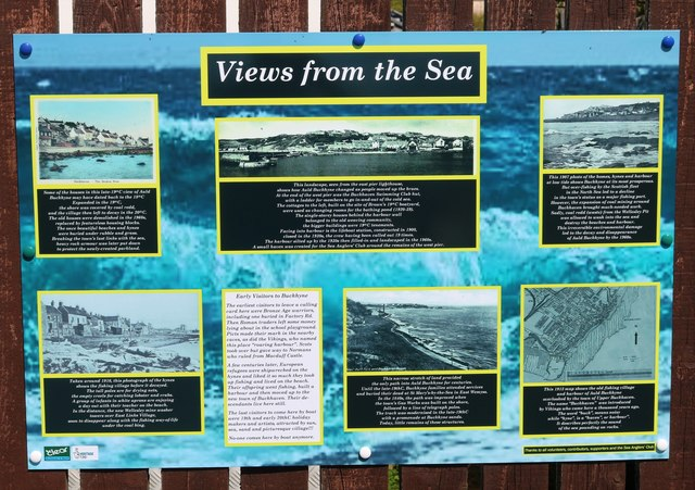 Information board, Buckhaven