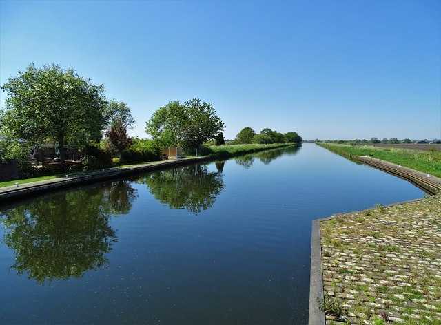 View west from Maud's Bridge