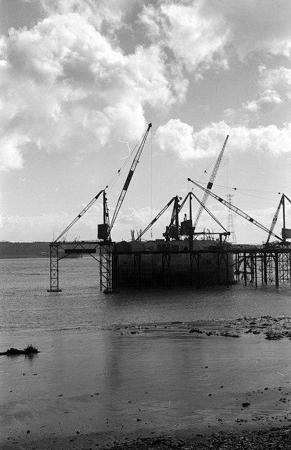 Building the Severn Bridge – 1963