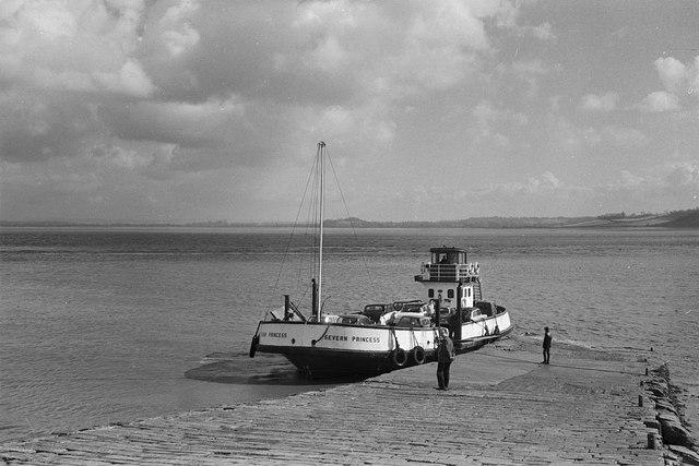 Severn Princess at Beachley – 1963