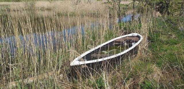 Boat on Collochan Loch