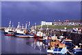 NU2232 : Seahouses Harbour by Colin Park