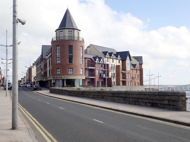 View across the Castle Bridge, Newcastle