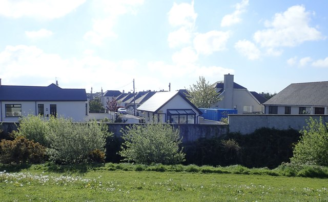A view of Shimna Vale from Islands Park, Newcastle