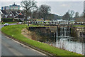 NS8780 : Forth and Clyde Canal, Lock#12 by David Dixon