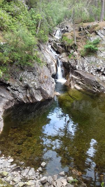 Lower Falls, Falls of Bruar
