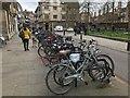 TL4458 : Cambridge bikes by David Lally