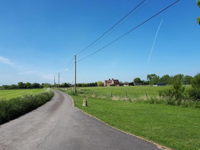 Lane near Mount Pleasant Farm Cottages