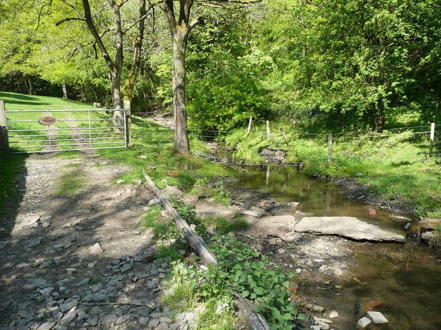 Lumb Brook upstream of Bird Holme Lane