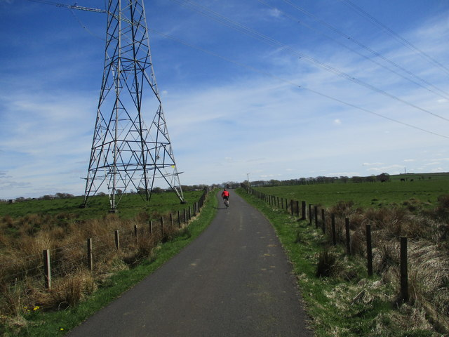 Cycling on High Cleughearn Road