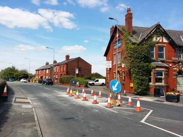 New Crossing Point on Upholland Road