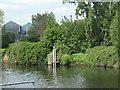 SE3419 : Site of Wakefield lock, Aire & Calder Navigation by Christine Johnstone