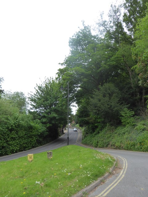 Junction of Lower Street and Sandrock