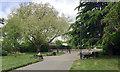 SP2965 : Social distancing, St Nicholas Park, Warwick by Robin Stott