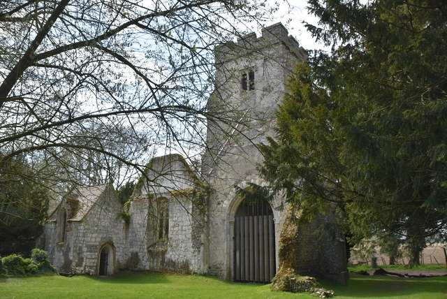 Church of St Mary (rems of)