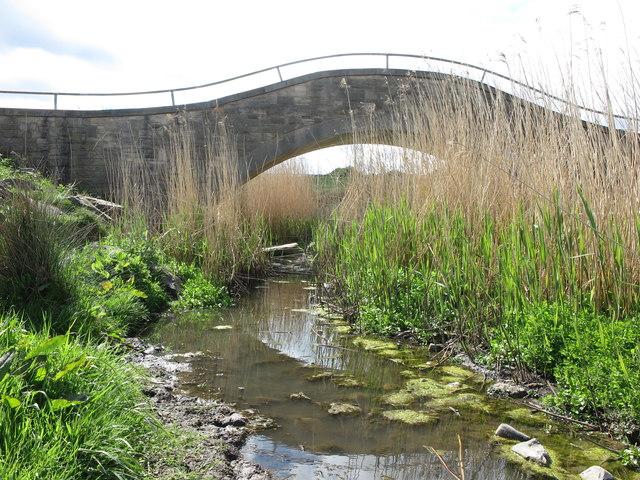 Bridge over the Brierdene Burn, Whitley Bay