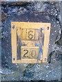 SH6065 : Hydrant marker, Mynydd Llandegai by Meirion