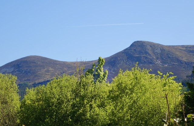 Millstone Mountain and Thomas's Mountain from Tipperary Lane