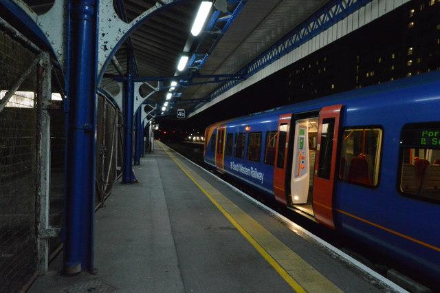 Platform 4, Portsmouth & Southsea Station
