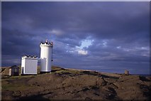 NT4999 : Light beacon, Elie Ness by Colin Park