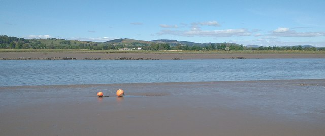Mud flats and buoys