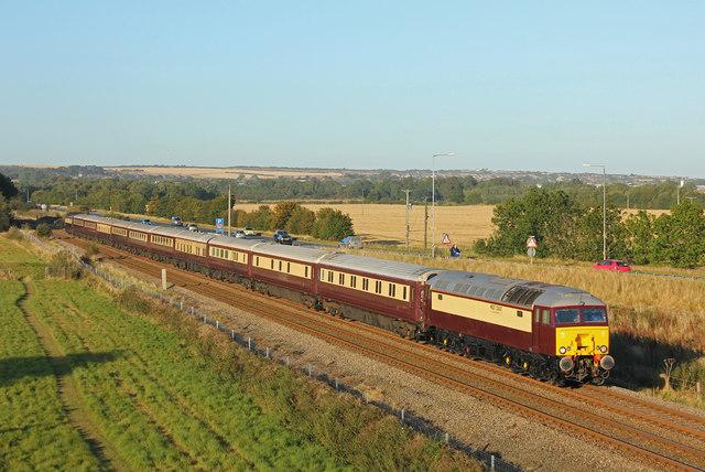 Railway near Seamer