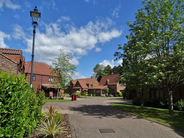 The Old Schoolyard, Redbourne