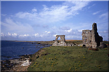 NO5101 : Newark Castle near St Monans by Colin Park