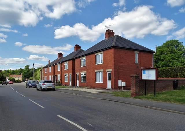 Houses on West Street, Scawby