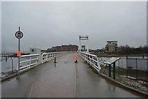 SU6101 : Gosport Millennium Bridge by N Chadwick