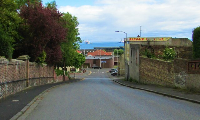 View down Fisher Street, Methil