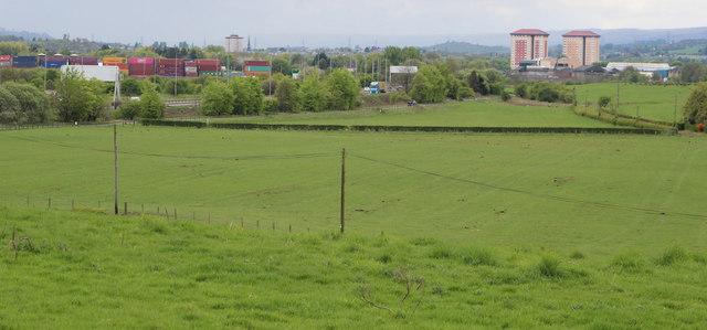 Farmland near Boghead