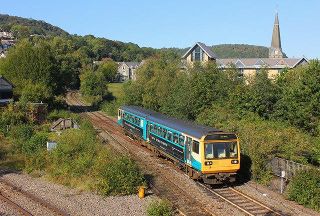 Railway at Pontypridd
