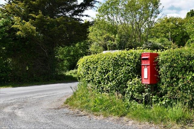 Dennington: Goddards Corner and Victorian post box