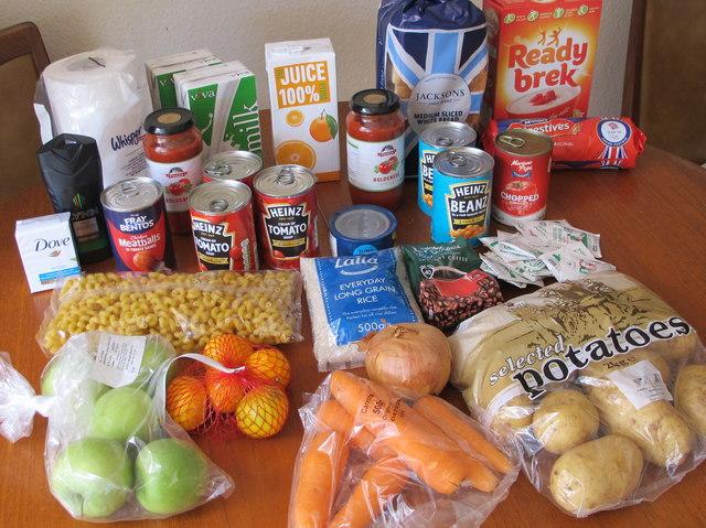 Government food parcel for coronavirus shielding