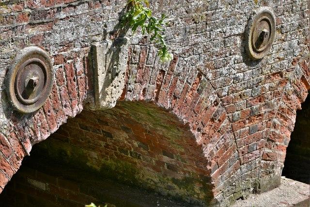 Dennington: Frostley Bridge (detail)