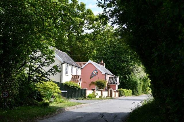 Worlingworth, Swan Road